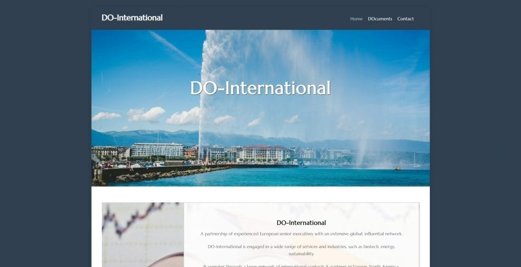 Website Do-International.com