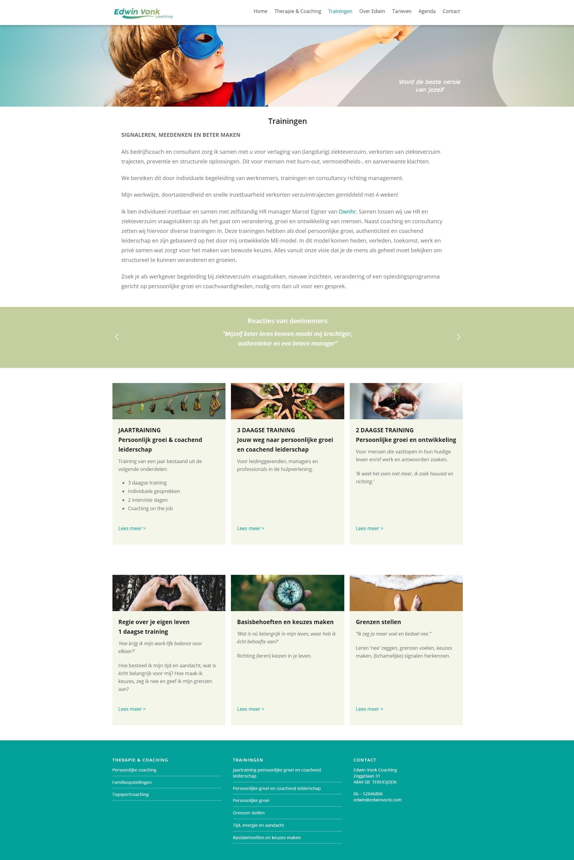 Website Edwinvonk.nl