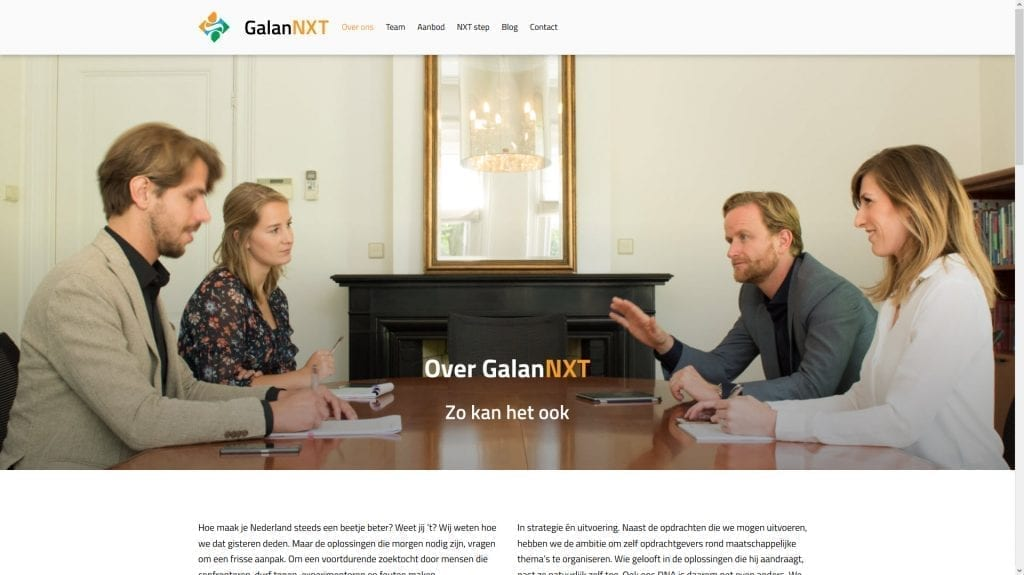 Website GalanNXT