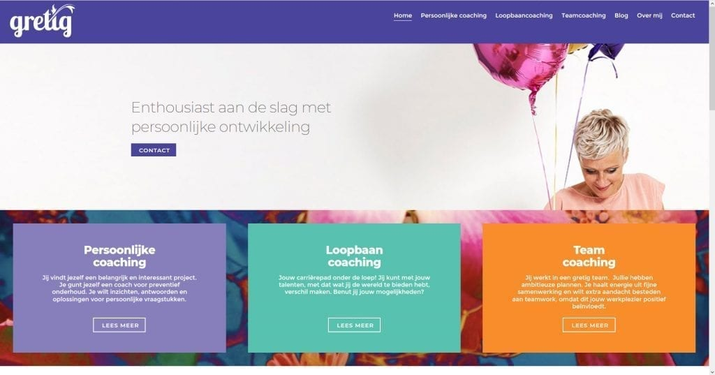 Website Gretig.nl