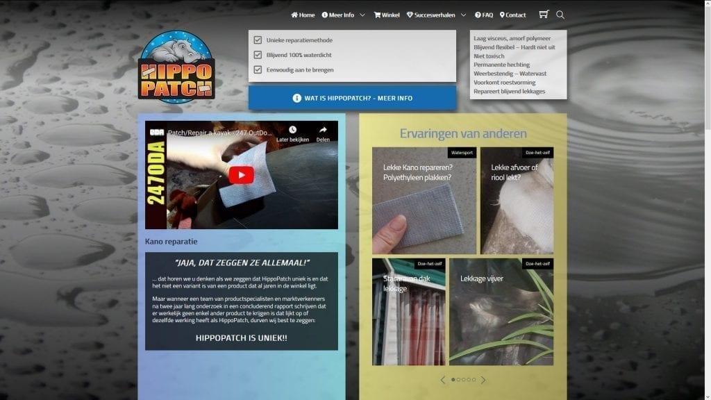Website Hippopatch.nl