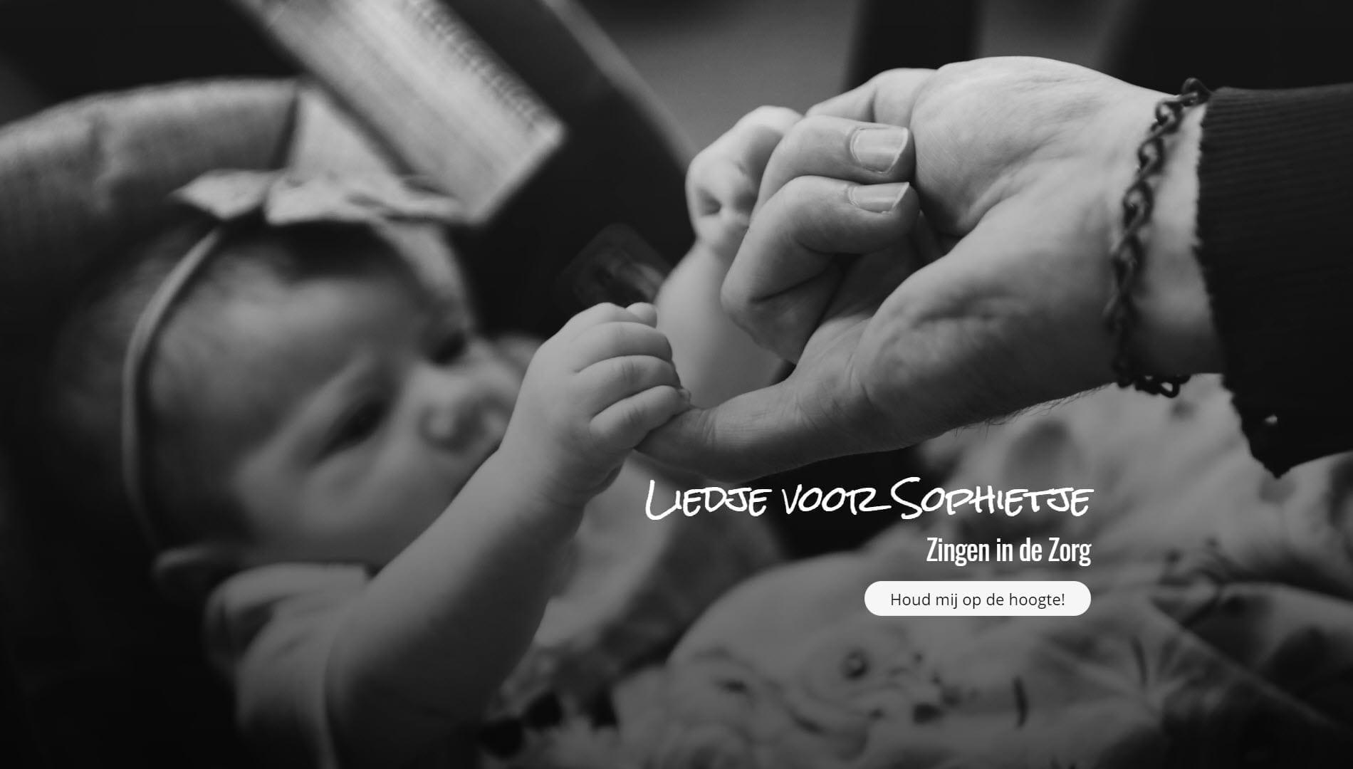 Website LiedjevoorSophietje