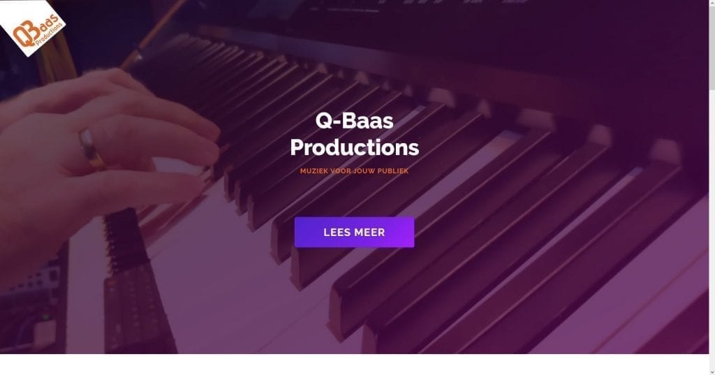 Website qbaas.nl