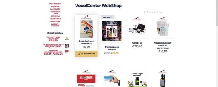 Shop.Vocalcenter.nl
