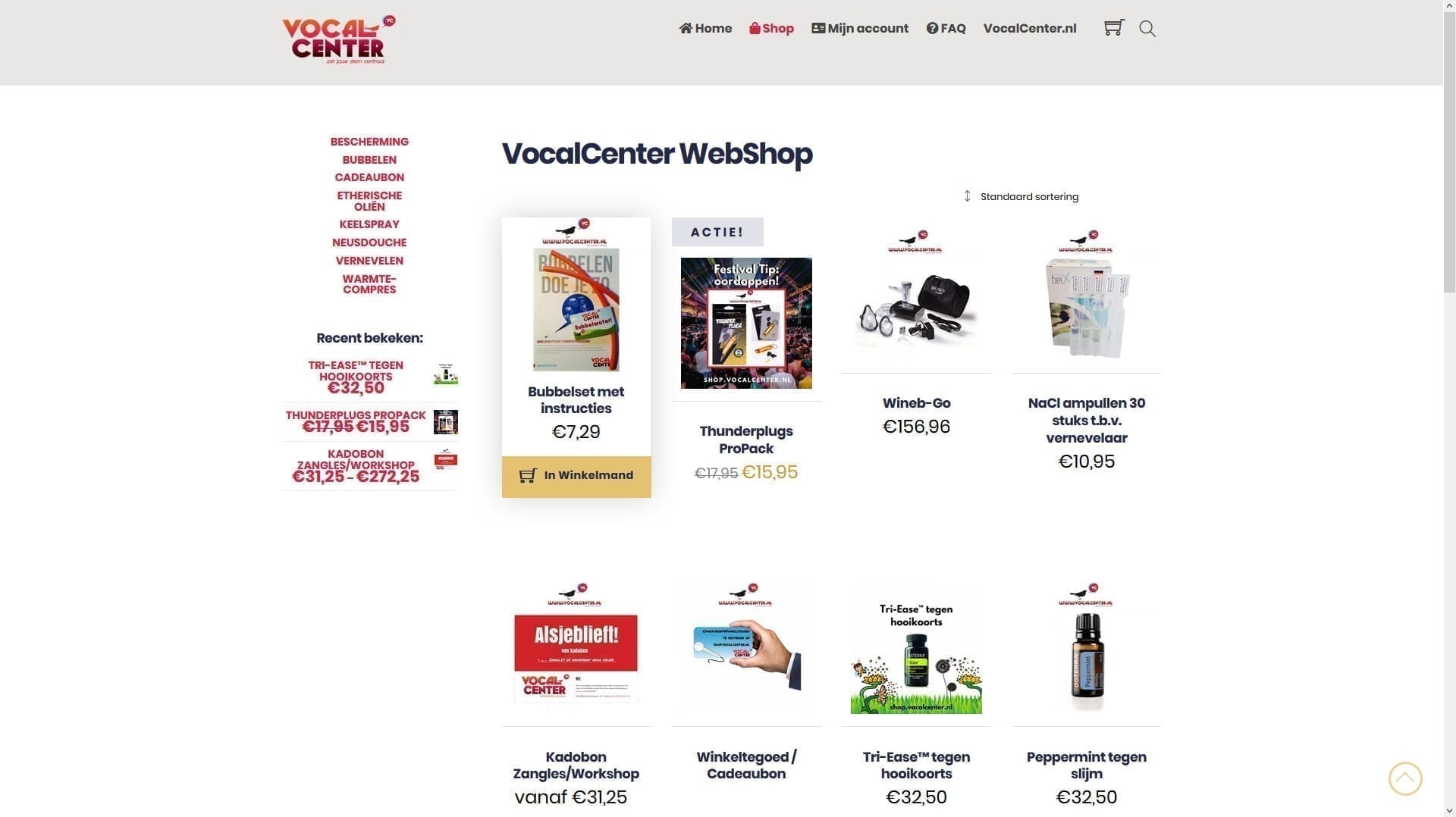 Shop.Vocalcenter.nl