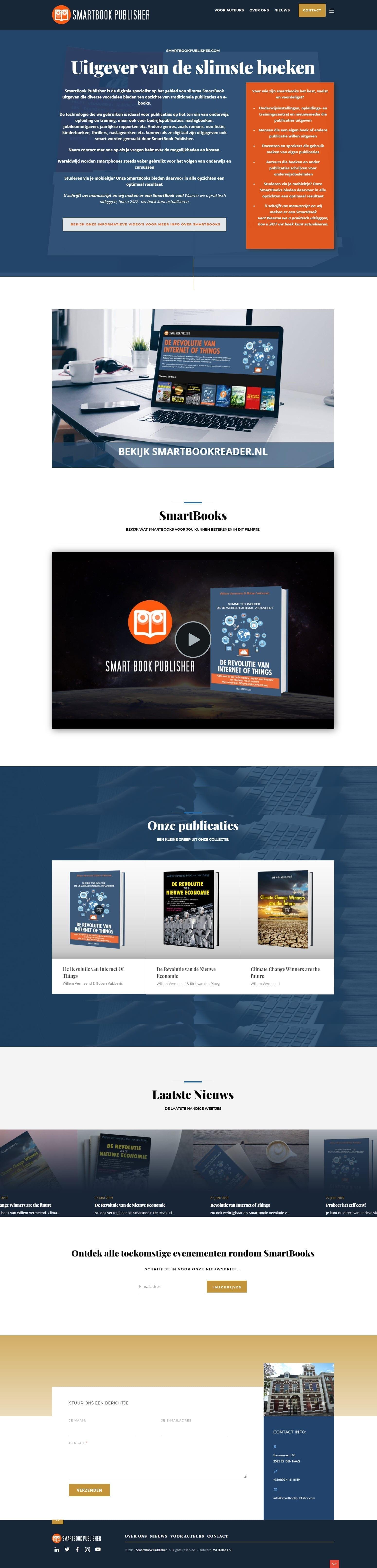 Website SmartBookPublisher