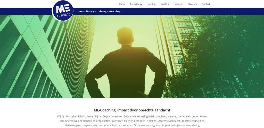 Screenshot me-coaching.com